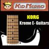 Korg Krome Electric Guitar Mix