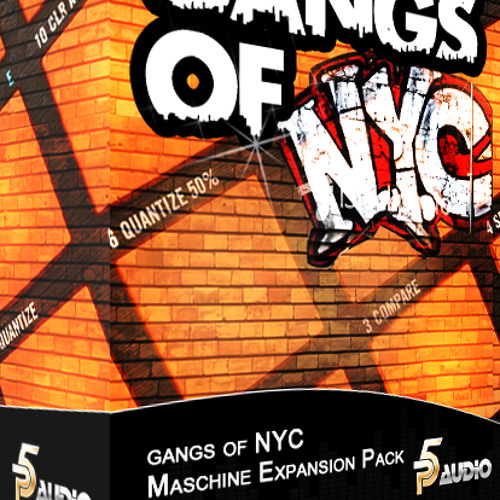 Gangs of NYC Sample Sound Pack for Maschine 2.0