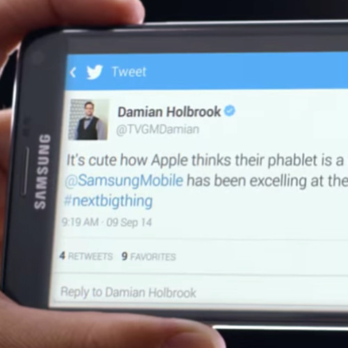 "#100:  Damian Holbrook on ""Gotham,"" ""Scorpion,"" and Trolling the iPhone in a Samsung Commercial"