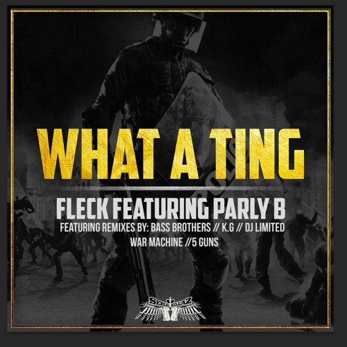 "FLeCK - ""What a ting!"" feat. Parly B [Out Now on Serial Killaz]"