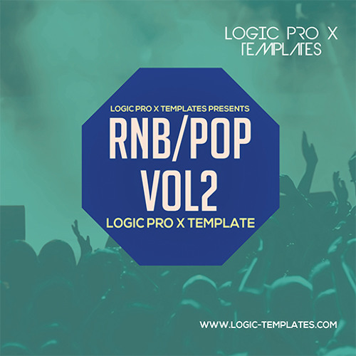 RnB POP Logic Pro X Template