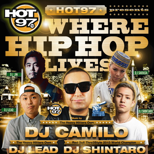 DJ CAMILO - NEW YORK CITY TO JAPAN MIX by CLUB_HARLEM | Free