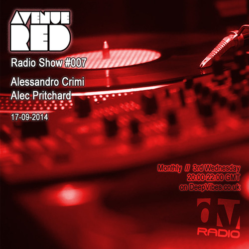 Avenue Red Radio Show #007 - Alessandro Crimi & Alec Pritchard