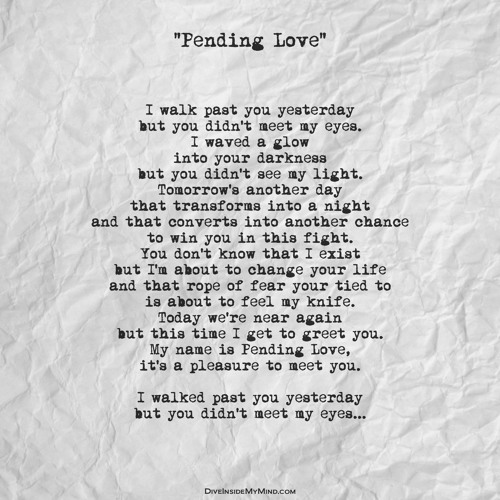 Pending Love