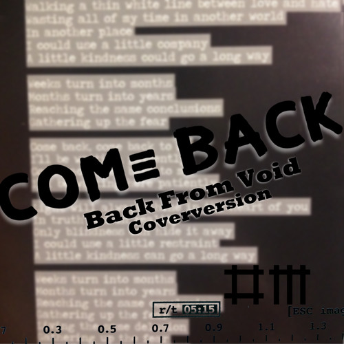 Come Back (Instrumental) (Coverversion) [Original By Depeche Mode]