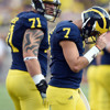 Did Shane Morris suffer a concussion during Michigan's loss to Minnesota?
