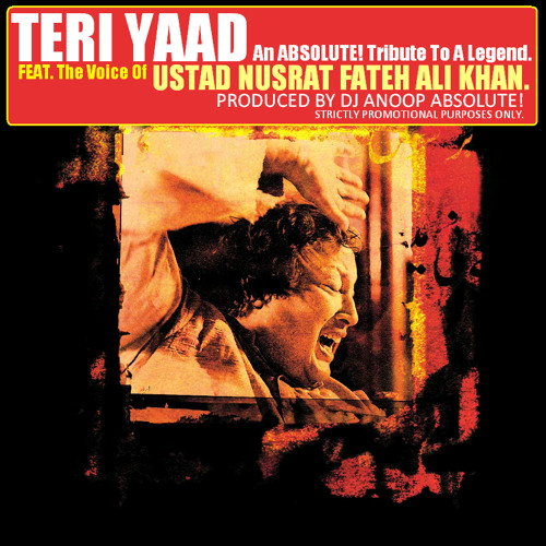 Mahmood Khan Feat. Ustad Nusrat Fateh Ali Khan -Teri Yaad (An ABSOLUTE! Tribute To a Legend)