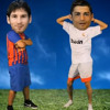 MESSI VS. CRISTIANO RONALDO - Im Sexy And I Know It! LMFAO parodia)