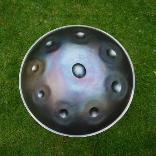Handpan prototype, Jan Borren
