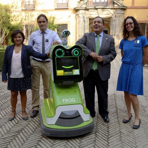 Nederlandse robot i.p.v. gids in het Spaanse Sevilla
