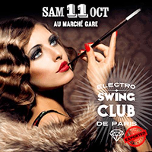 Electro Swing Club  le 11 octobre @Marché Gare