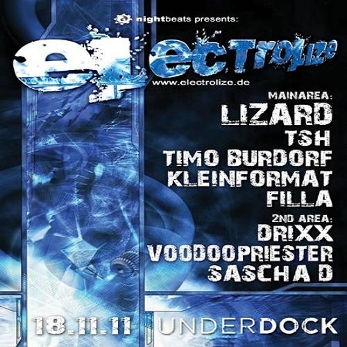 DJ Drixx - Electrolize @ Club Underdock / Bremen - 18.11.2011