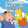 Chris Griffin vs Bart Simpson. Epic Rap Battles of Cartoons 40