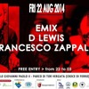 Openset Emix-Dlewis-Zappalà@ roma capital summmer22 Aug 2014-