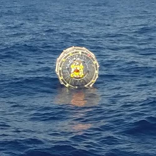 Coast Guard Warn Man In Bubble