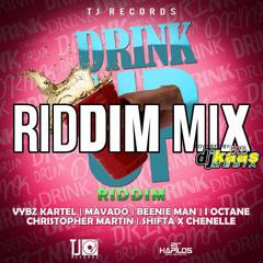 Drink Up Riddim Mix ft Vybz Kartel, Beenie Man, Christopher Martin, Mavado, I-Octane & More