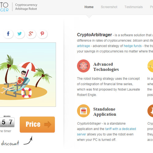 Crypto Arbitrager - Cryptocurrency Arbitrage Robot by