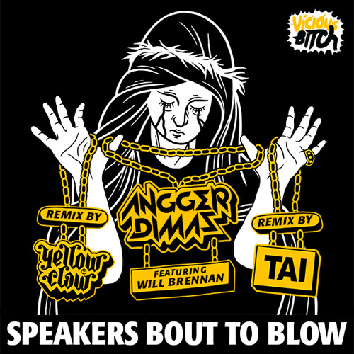 Angger Dimas feat. Will Brennan   Speakers Bout To Blow (Yellow Claw Remix)