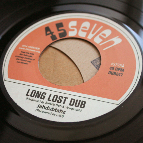 "Jahdubtahz - Long Lost Dub (4579AA, 7"")"
