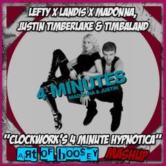 [FREE DL] Lefty X Landis X Madonna, JT & Timbaland - Clockwork's 4 Minute Hypnotica (AoB Mashup)