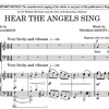 HEAR THE ANGELS SING - a new carol by Thomas Hewitt Jones, words by Paul Williamson - clip