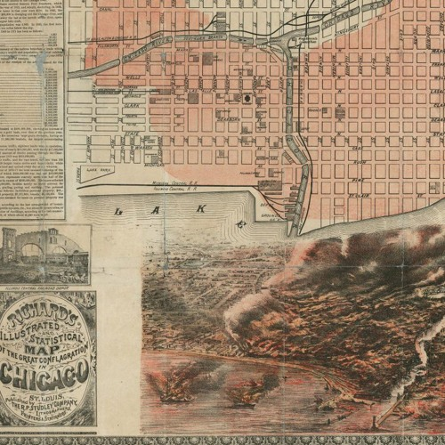 Chicago after (and maybe without) the Great Fire of 1871