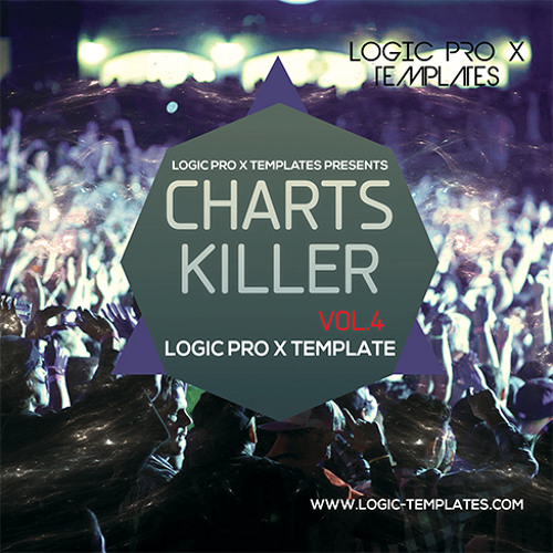 Charts Killer Vol.4 Logic Pro X Template