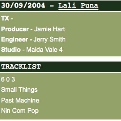 Lali Puna: Past Machine (John Peel Session 2004)