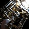 Crazy saxophonist walking around downtown Denver, CO