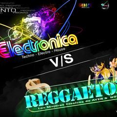 Mix Electro Vs Regueton (Dj Cangri) & (trasmitiendo Sentimientos Atraves De Las Mesclas En Vivo)