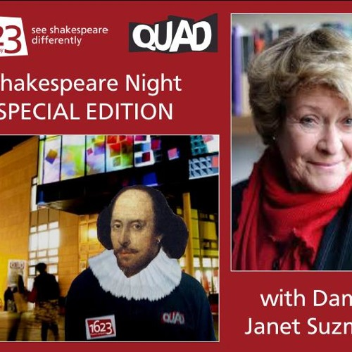 Shakespeare Night SPECIAL EDITION with Dame Janet Suzman