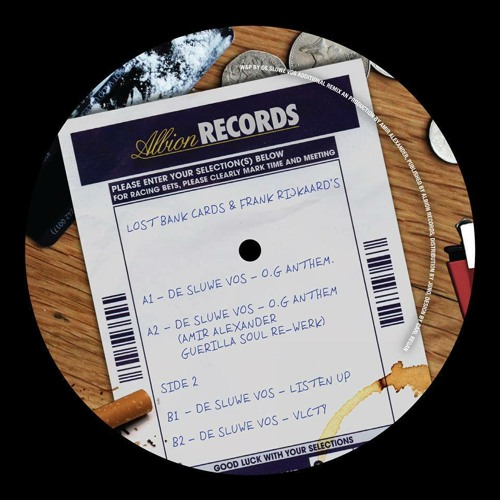 ALBION 002 -Lost bank cards & Frank Rijkaard's EP