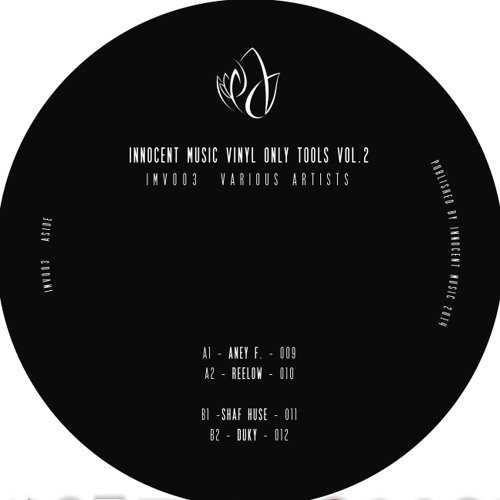 Aney F. - 009 - A1 (Vinyl Only) - Innocent Music Vinyl