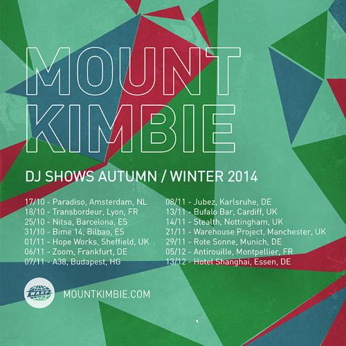 Mount Kimbie DJ mix October 2014