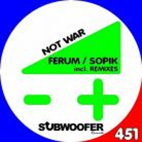 Ferum & Sopik - Not War (Enrico Fuerte Remix)