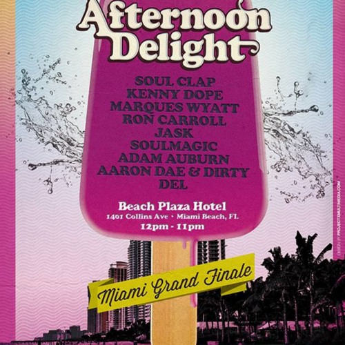Live @ Afternoon Delight Miami WMC 2013
