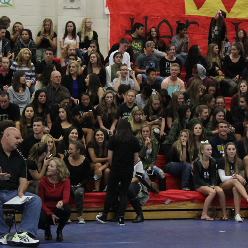 Junior Class Cheering Section