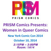 NYCC 2014 Women In Queer Comics Panel