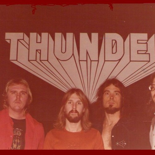 High-High-High cover of paul McCartney song performed by THUNDER Rock Band, LIVE, 1978, Jim Last on Drums.
