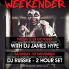 Halloween Weekend | DJ RUSSKE GUEST SET | Republik Liverpool | Mixed By James HYPE!