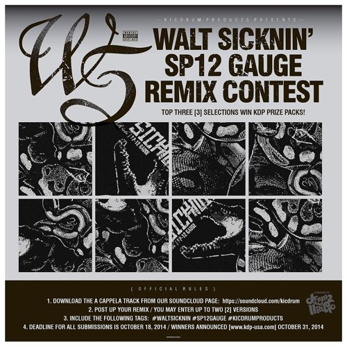 Walt Sicknin' - Sp12 - Gauge (Lost Perfection Street Remix)