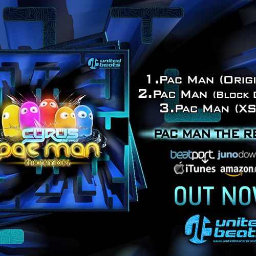 Cyrus The Virus - Pac Man (Original Mix) Out soon...