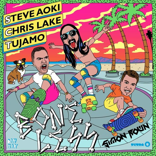 Steve Aoki, Tujamo, Chris Lake, Simon Rown - Boneless (Simon Rown Remix)