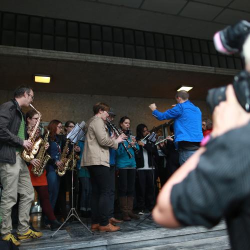 MusikarbeiterInnenkapelle & das Funkhaus