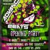 D4v Vs C4l @ OPENING AdvancedBeats 2k14 - 2k15 , Inox Club