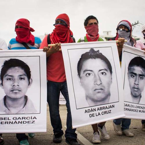 Mensaje de normalistas de Ayotzinapa del 18 de octubre del 2014