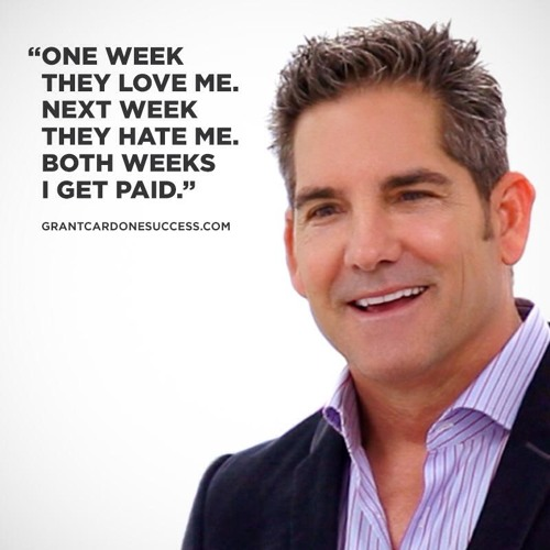 Grant Cardone - How To Make Millions & Achieve Massive Success