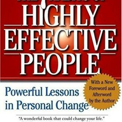 The 7 Habits of Highly Effective People Course Part 1