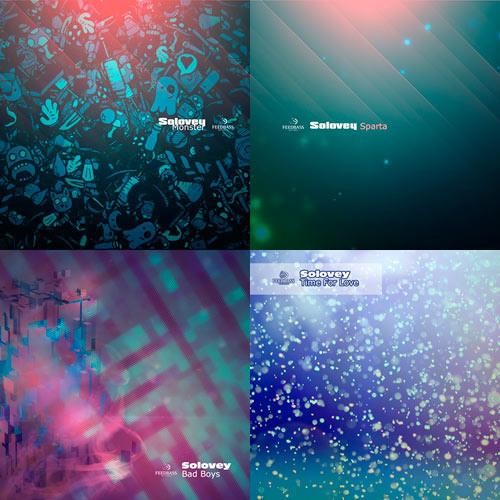 Solovey - Monster/Sparta/Bad Boys/Time For Love [4 Singles]