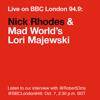Interview with Duran Duran's Nick Rhodes & Author Lori Majewski on BBC London 94.9